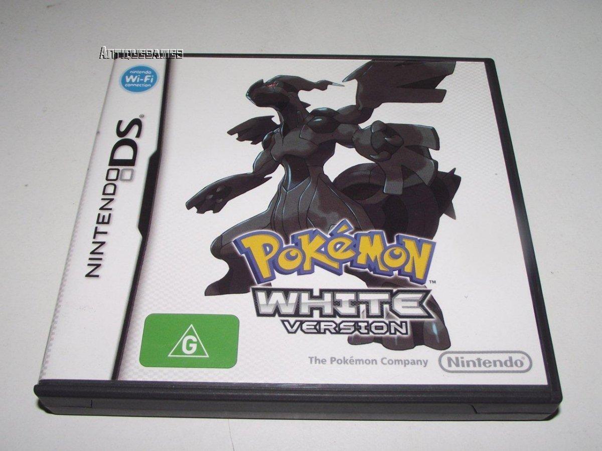 pokemon white version nintendo ds 2ds 3ds game preloved