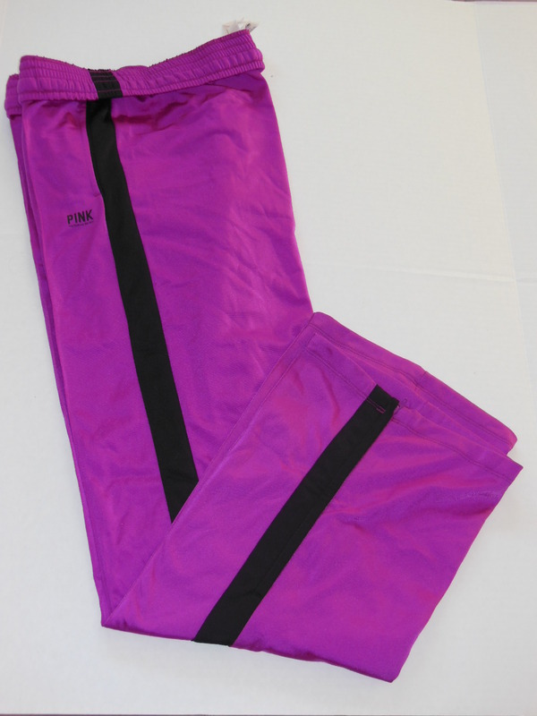 Victoria's Secret PINK Logo Fitness/Campus/Sweat/Work Out Sport Track Pants BNWT