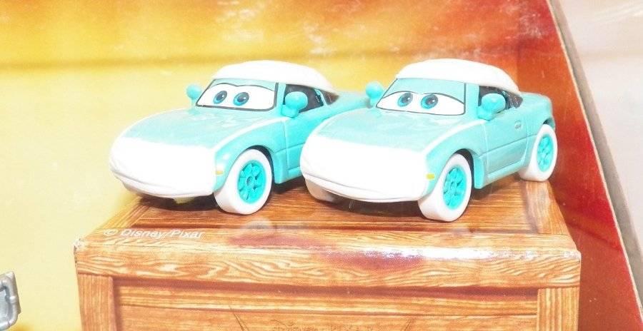 DISNEY PIXAR CARS Toon RESCUE SQUAD MATER 4-Pack Dr Mater